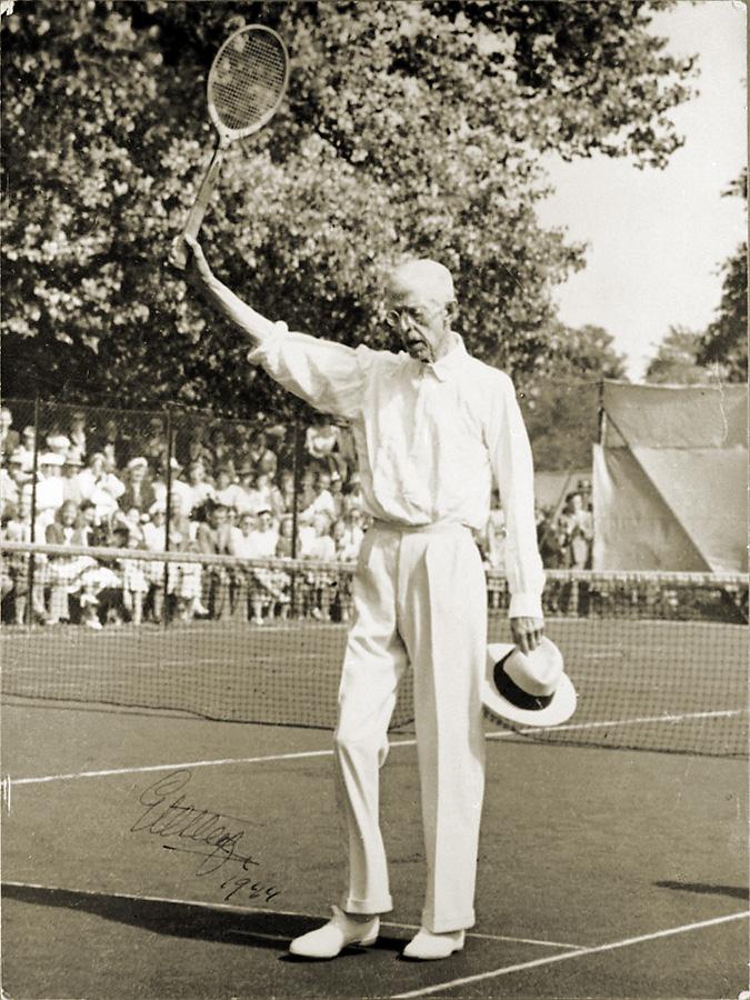 Tennis – den vita sporten och Mr. G. Kung Gustav V 2b500ad569870